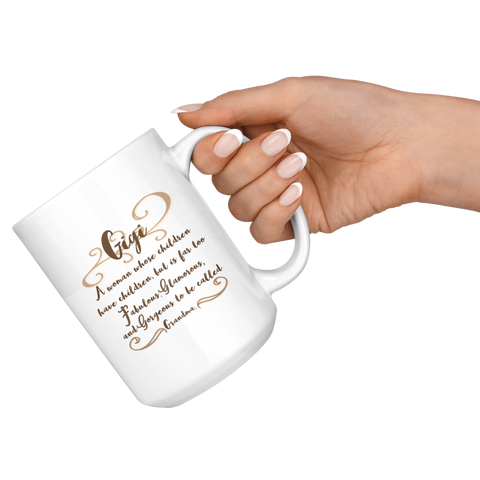 Image of Too Fabulous To Be Called Grandma Mug