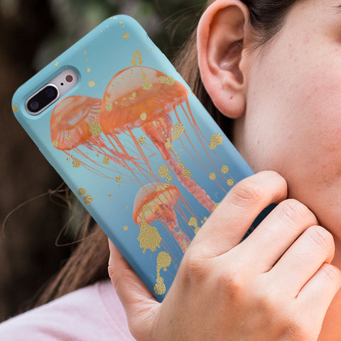 jellyfish phone case samsung