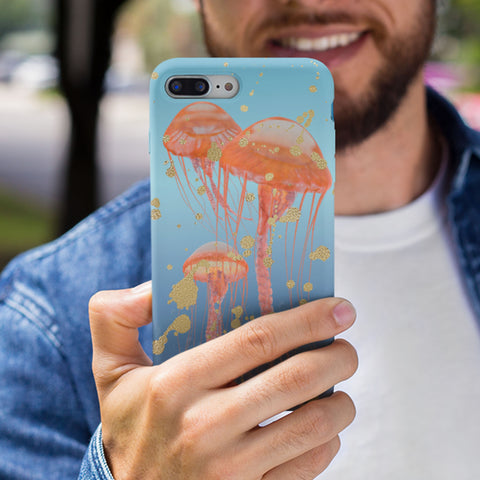 jelly fish phone case