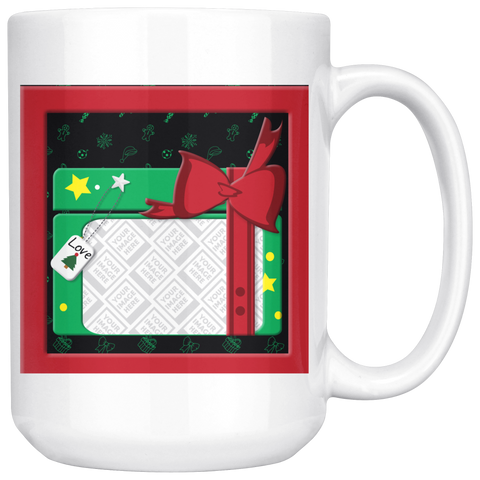 Personalized Christmas Gift Photo Mug