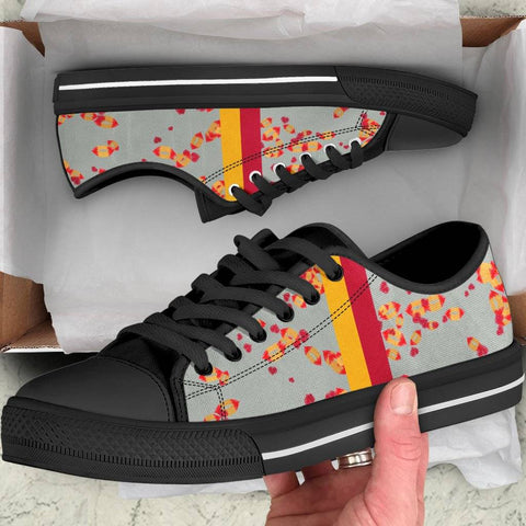 Image of Iowa State Cyclones Sneakers for Women Low Top Black Soles