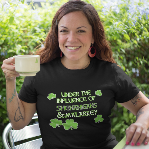 St. Patrick's Day Shamrock Couples' Combo T Shirts