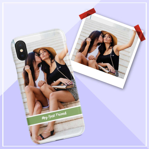 Image of my best friend photo iphone case
