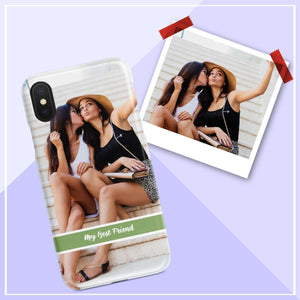 my best friend photo iphone case