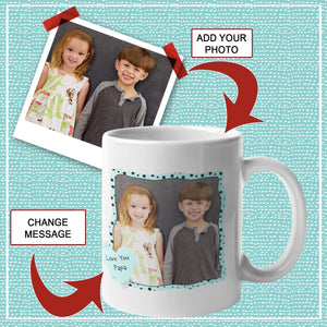 love you add photo to custom mug