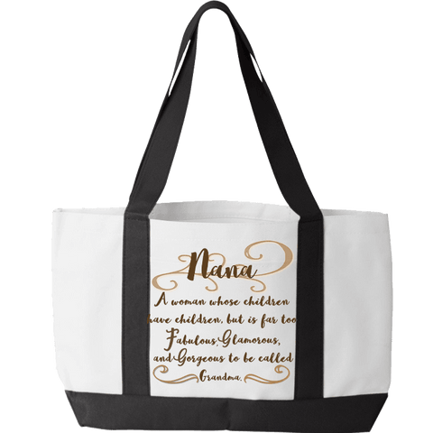Image of Fabulous Nana Tote Bag