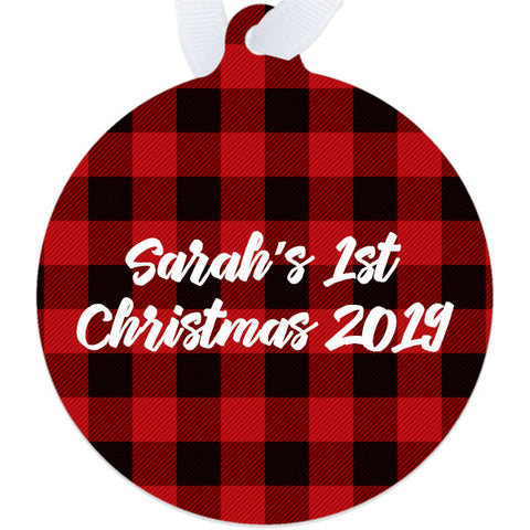 Image of personalized ornament