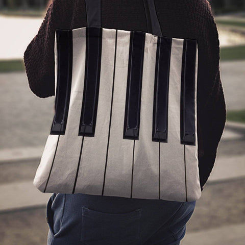 Image of Piano Totebag