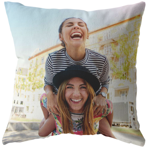 Image of personalized photo pillow add photo