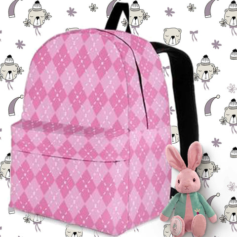 Image of pink girls backpack