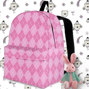 pink girls backpack
