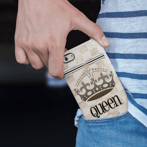 Image of queen phone case