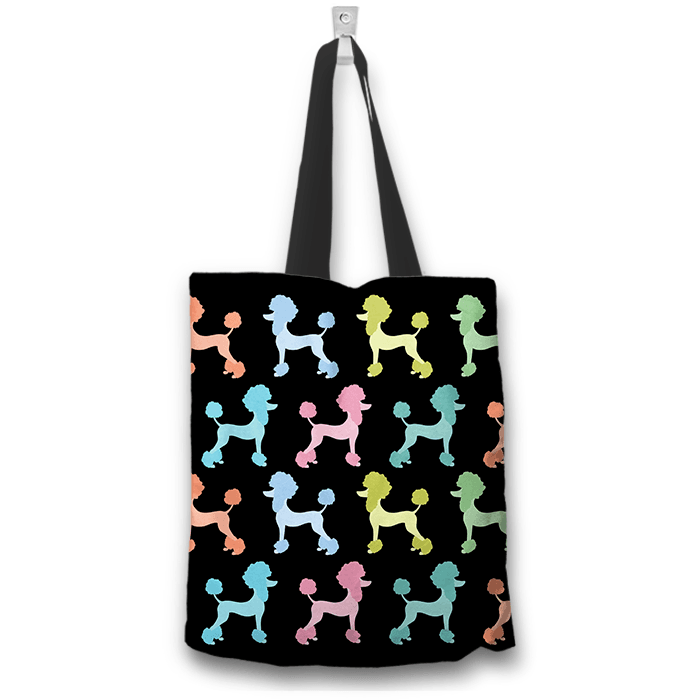Poodle Dogs Art Tote Bag