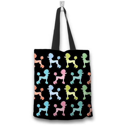 Image of Poodle Dogs Art Tote Bag