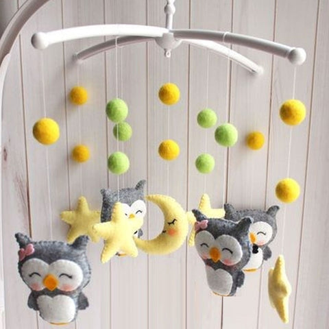 Image of Handmade Baby Crib Mobile