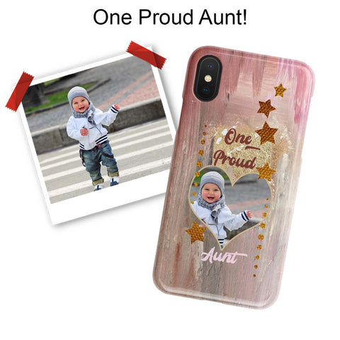 proud aunt iphone photo case