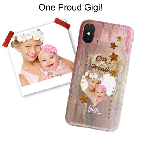 proud gigi photo iphone case