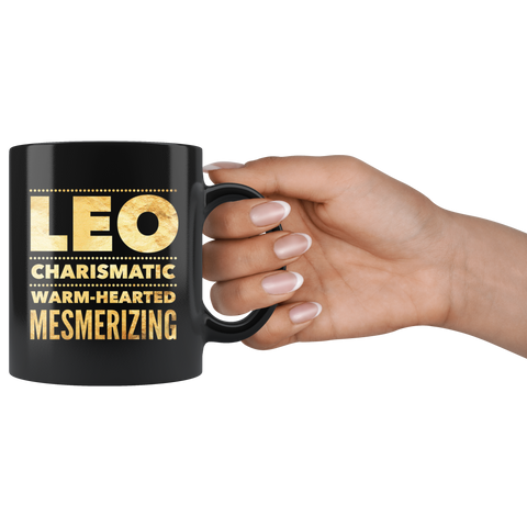 leo quote coffee mug