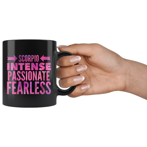 Scorpio Sign Horoscope Astrology Mug