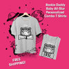 rookie daddy baby all star matching shirts