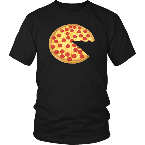 pizza and slice dad t-shirt