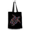 Sea Turtle Kaleidoscope Design Tote Bag