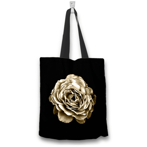 Image of Rose Flower Art Two Sided Design Tote Bag