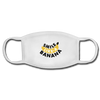 Smile Banana Face Mask - white/white