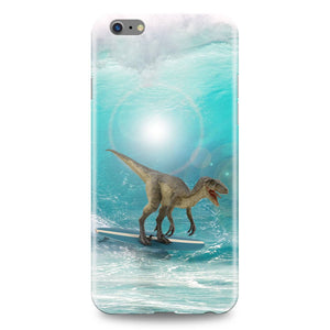 dinosaur surfing phone case phone cover iphone samsung