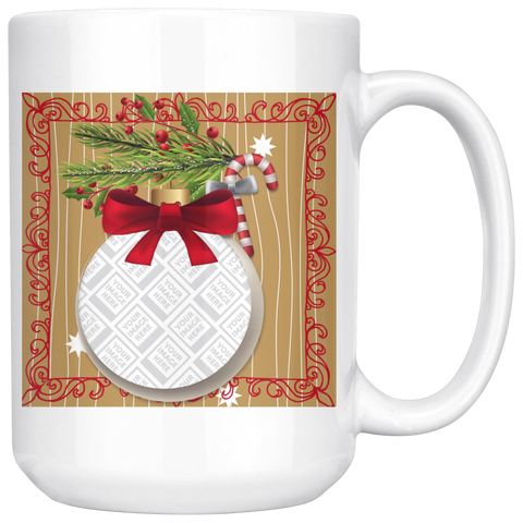 Personalized Holiday Photo Mug