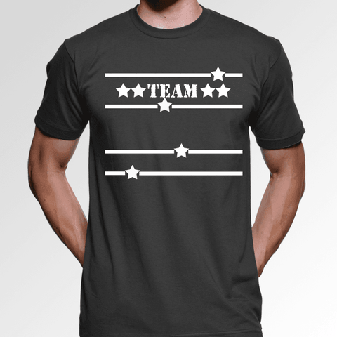 Image of Team Custom Family Shirts Add Your Family Name Free Men's Tee