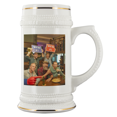 add  photo to beer mug