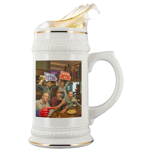 Personalized Photo Beer Stein