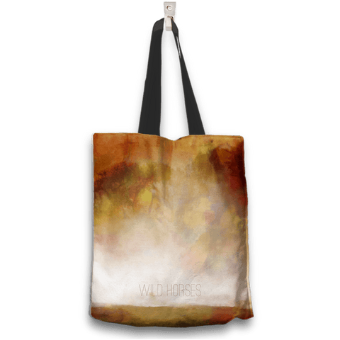 Wild Horses Two Sides Two Designs Tote Bag