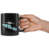 air force wife real boss coffee mug