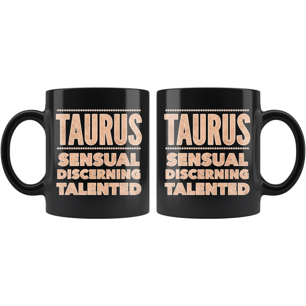 Taurus Astrology Quote mug