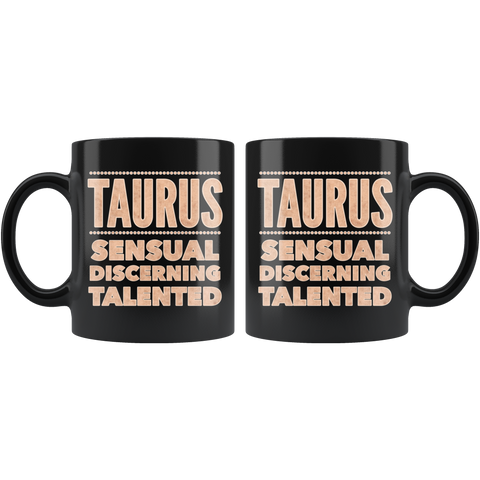 Image of Taurus Astrology Quote mug