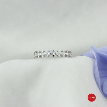 0.90 Ct F-G Color Pırlanta Tamtur Yüzük - I'm Diamond