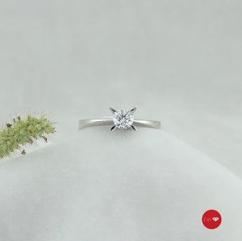 0.40 Ct G Color Tektaş Yüzük - I'm Diamond