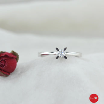 0.15 Ct D-E Color Tektaş Yüzük - I'm Diamond