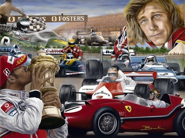 """Silverstone, Home Of British Winners"""
