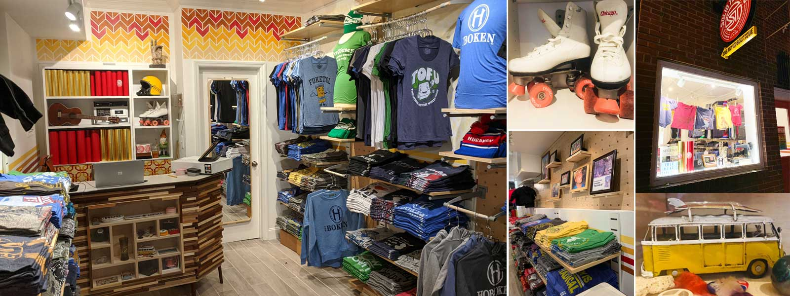 Hoboken T-shirt Shop 2.0 | Full Circle in the Square Mile