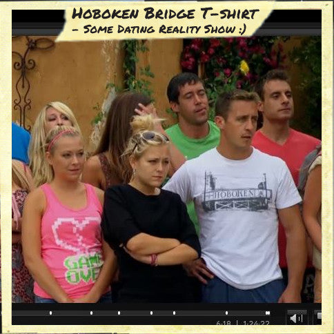 Solid Threads Hoboken Bridge T-shirts | As Seen On TV