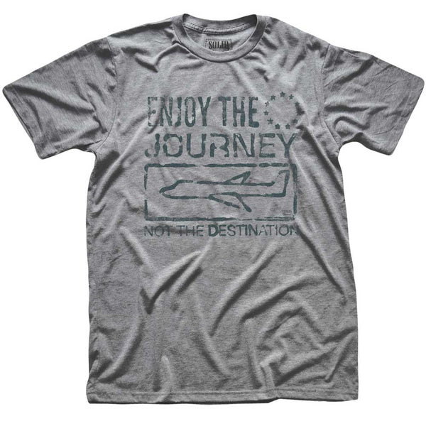 Enjoy the Journey, Not The Destination Retro Tee | From Status Quo to Status Flow