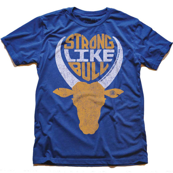 Strong Like Bull Retro Tee | From Status Quo to Status Flow