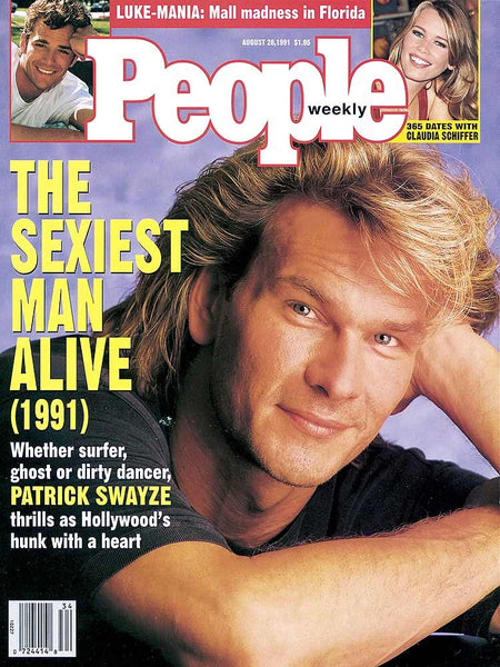 Patrick Swayze - The Sexiest Man Alive People Mag Cover