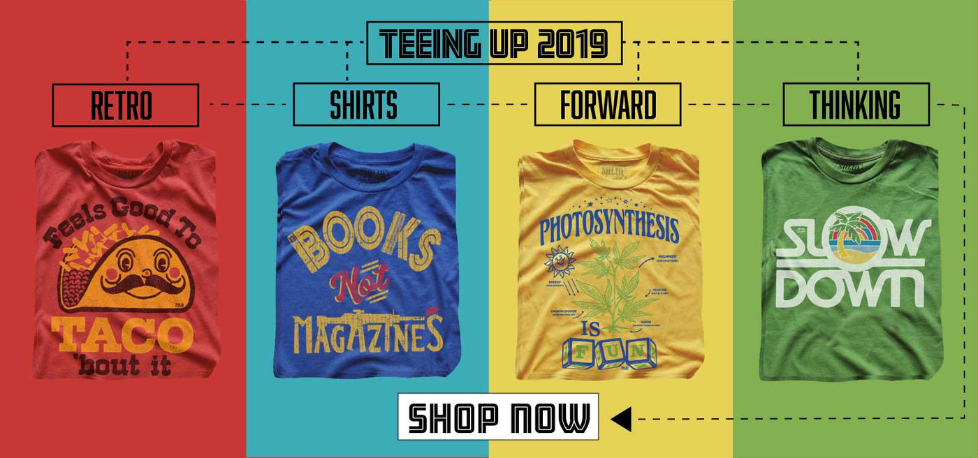 01d25448 Vintage Inspired T-shirts | Funny Retro Tees | SOLID THREADS