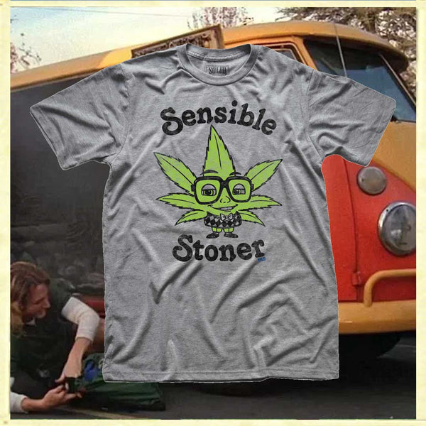 Sensible Stoner Vintage Inspired T-shirt | Hotboxing
