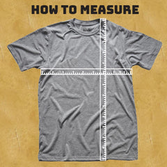 Vintage & Retro T-shirts | SOLID THREADS Size Chart