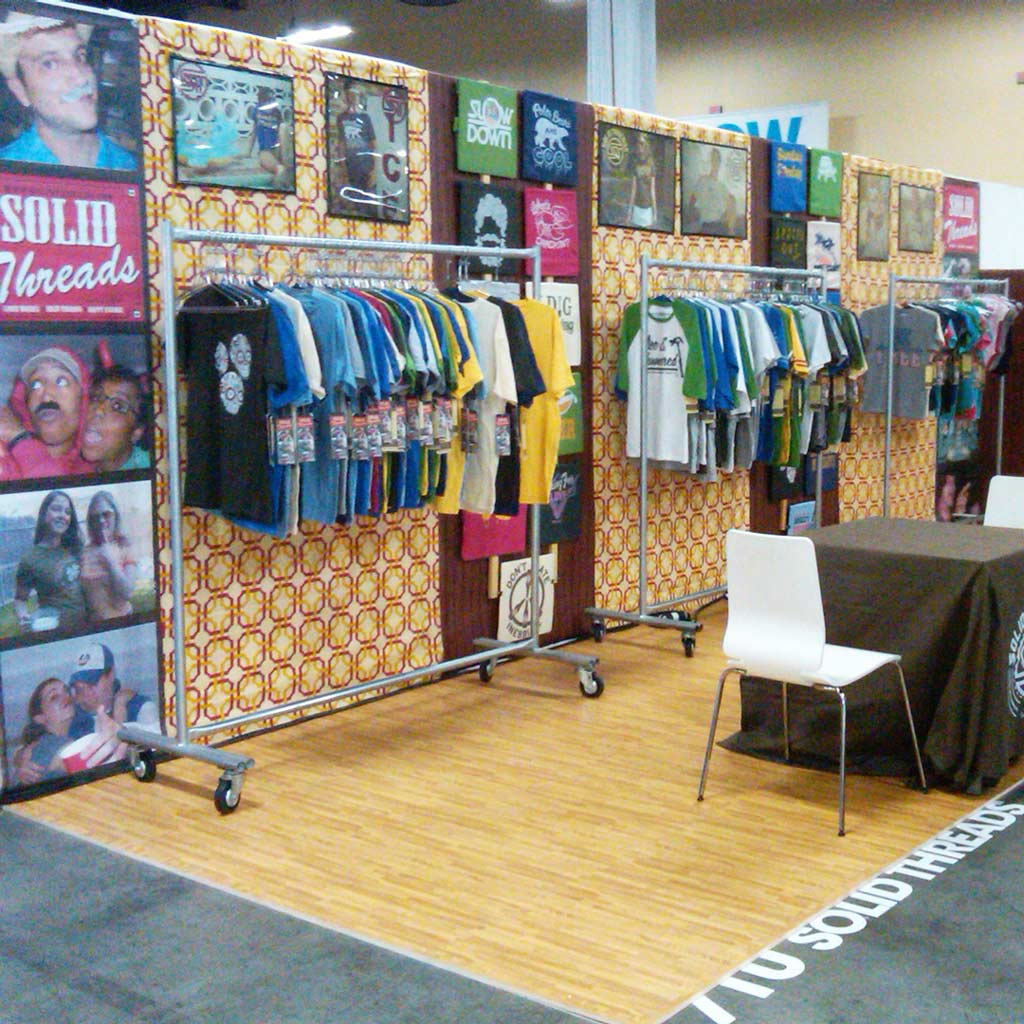 Cool Wholesale Graphic Tees for Men | Vegas Tradeshow T-shirt Booth 2011